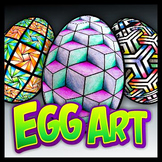 Egg Art - Coloring Pages, Templates, and Reference Graphics
