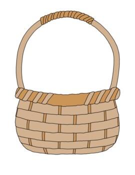 image relating to Basket Printable identify Egg Bookmarks, Bulletin Board Preset, Easter, Basket Printable Coloring Webpage