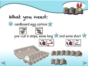 Egg Carton Caterpillars - Animated Step-by-Step Craft SymbolStix