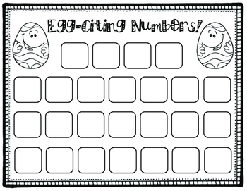 Egg Carton Number ID and Writing