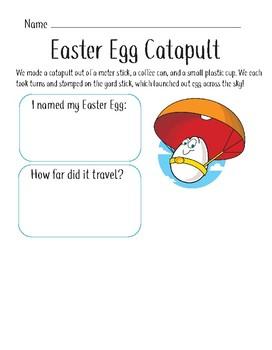 Egg Catapult Activity (P-3)