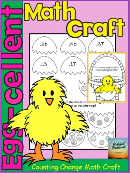 Egg-Cellent Coin Counting Math Crafft!