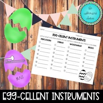 Egg-Cellent Instrument Families