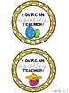 Egg-Cellent Teacher Tags