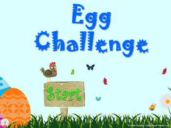 Egg Challenge (A revision PowerPoint game)