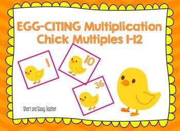Egg-Citing Multiplication Chicks