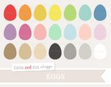 Egg Clipart; Basic Shape, Easter, Chicken
