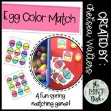 Egg Color Match Spring Activity FREEBIE