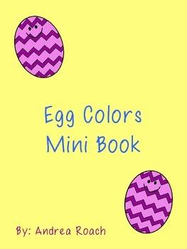 Egg Colors Mini Book
