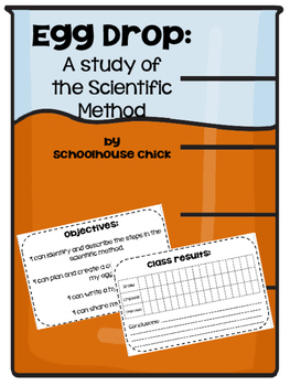 Egg Drop- A Study of the Scientific Method