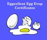 Egg Drop Award Certificates