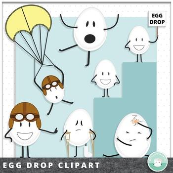 Egg Drop Clipart