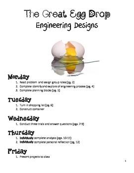 Egg Drop Engineering Process