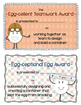 Egg Drop STEM Challenge with Awards