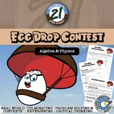 Egg Drop Contest -- Integrated Algebra & Physics STEM Project