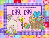 """Egg, Egg"" An Easter Chant: Common Core Worksheets, Activities, Centers & More!"