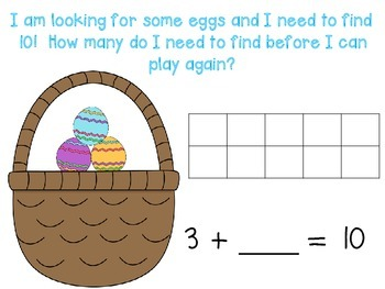 Egg Equations - Partners of 10