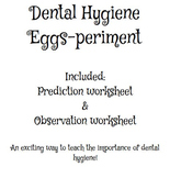 Egg Experiment Recording Sheets