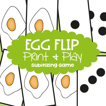 Addition Game - Egg Flip - Math Center for Early Addition