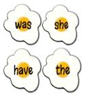 Egg Flip Sight Words