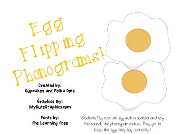 Egg Flipping Phonograms (Spalding)