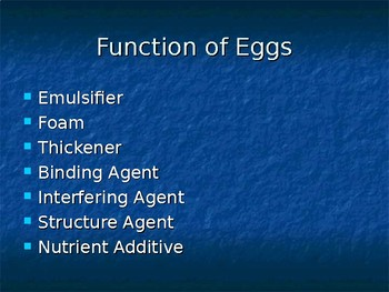 Egg Functions