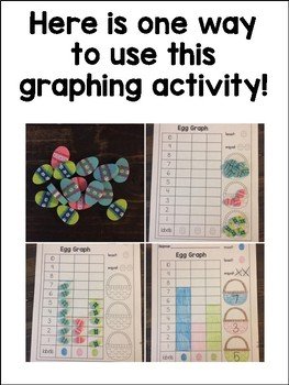 Egg Graph with Target Mini Erasers!