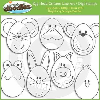 Egg Head Critters
