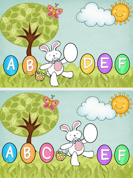 Egg Hunt ABC Interactive Book
