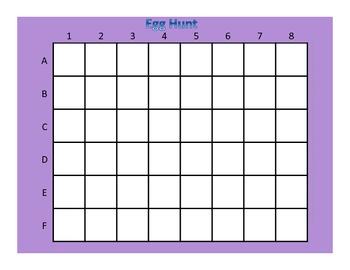 Egg Hunt (Advanced Version): A Math Game for Easter/Spring