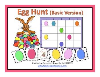 Egg Hunt (Basic Version): A Game for Easter/Spring