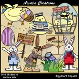 Egg Hunt Clip Art