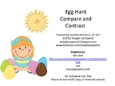 #APR2019slpmusthave Egg Hunt Compare and Contrast