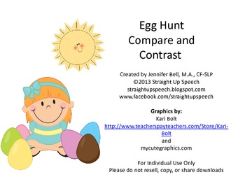 Egg Hunt Compare and Contrast