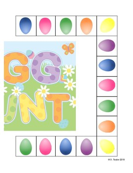 Egg Hunt Game for Easter