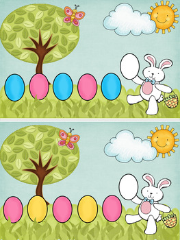 Egg Hunt Patterns Interactive Book