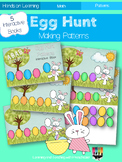 Egg Hunt Patterns Interactive Book