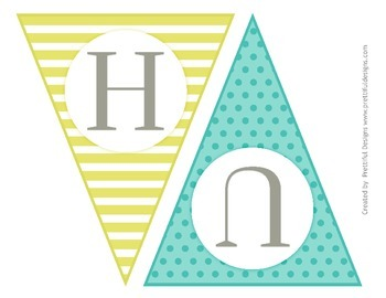 Egg Hunt Printable Easter Banner