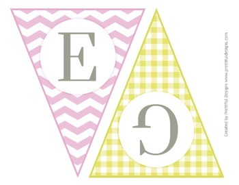 Egg Hunt Printable Easter Banner