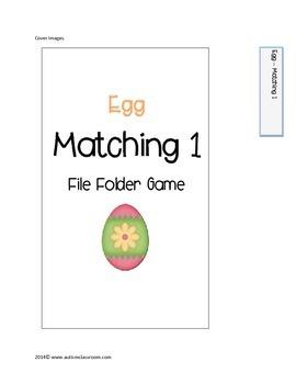 Easter File Folder