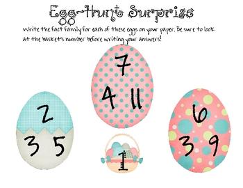 Egg Hunt Surprise!
