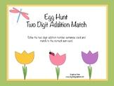 Egg Hunt Two-Digit Addition Match
