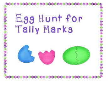 Egg Hunt for Tally marks