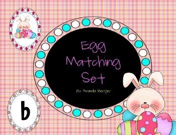 Egg Initial Sound Matching Set