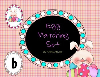 Egg Initial Sound Matching Set