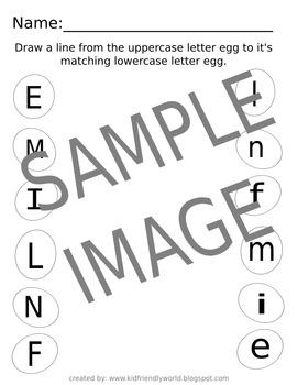 Egg Letter Match