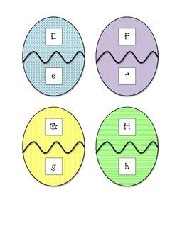 Egg Letter Matching