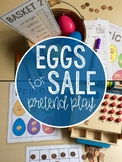 Egg Market: Plastic Eggs Pretend Play Resources & Math Center