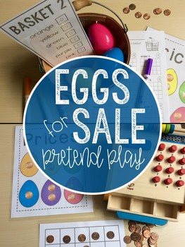 Egg Market: Pretend Play