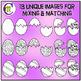 Egg Match Clip Art